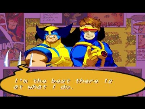 X-Men VS Street Fighter - Cyclops/Wolverine - Expert Difficulty Playthrough