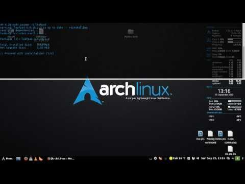 Tutorial montare automata partitii ntfs in Arch Linux folosind ntfs-3g