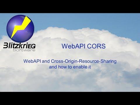 WebAPI-CORS