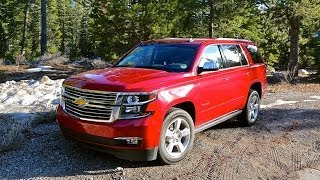 2015 Chevy Tahoe overview provided by GM