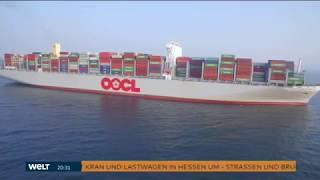 OOCL Hong Kong - Das größte Containerschiff der Welt (Doku)