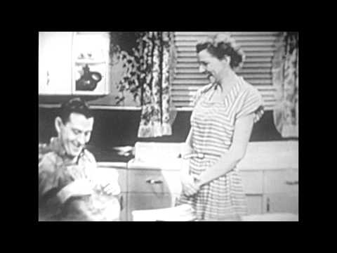 """An Old """"Duz"""" Laundry Soap TV Commercial July 5, 1949"""