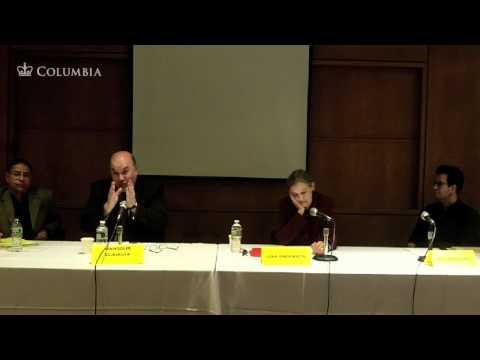 """Libya Today"" (1 of 2) a discussion with Ali Ahmida, Mansour El-Kikhia, Hisham Matar & Lisa Anderson"