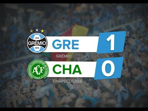 Gol de GRÊMIO 1 x 0 Chapecoense - Brasileirão 2016