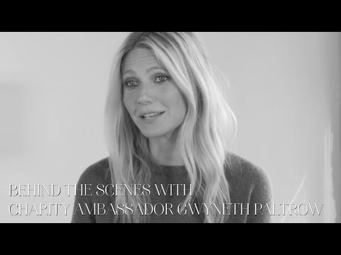 Frederique Constant 2016 Charity Ambassador GWYNETH PALTROW Behind the scenes