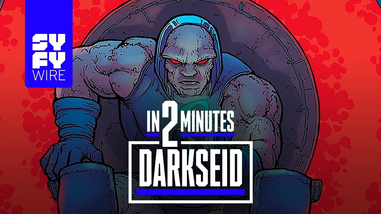 Darkseid Explained in 2 Minutes | SYFY WIRE