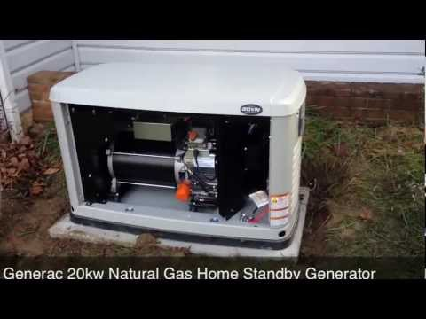 Generac 20kw Natural Gas Home Standby Generator