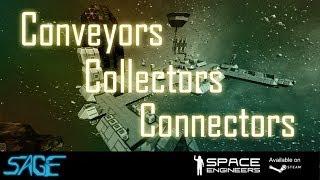 Space Engineers, Conveyors, Collectors, & Connectors (Update 01.026.012)
