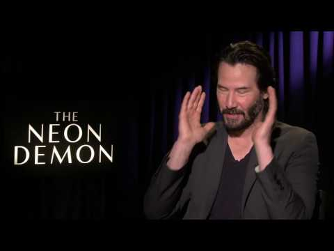 THE NEON DEMON INTERVIEW KEANU REEVES (Broad Green Pictures)