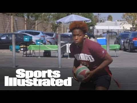 Nia Toliver Goes Extra Mile To Become All-American Rugby Player | SI Now | Sports Illustrated