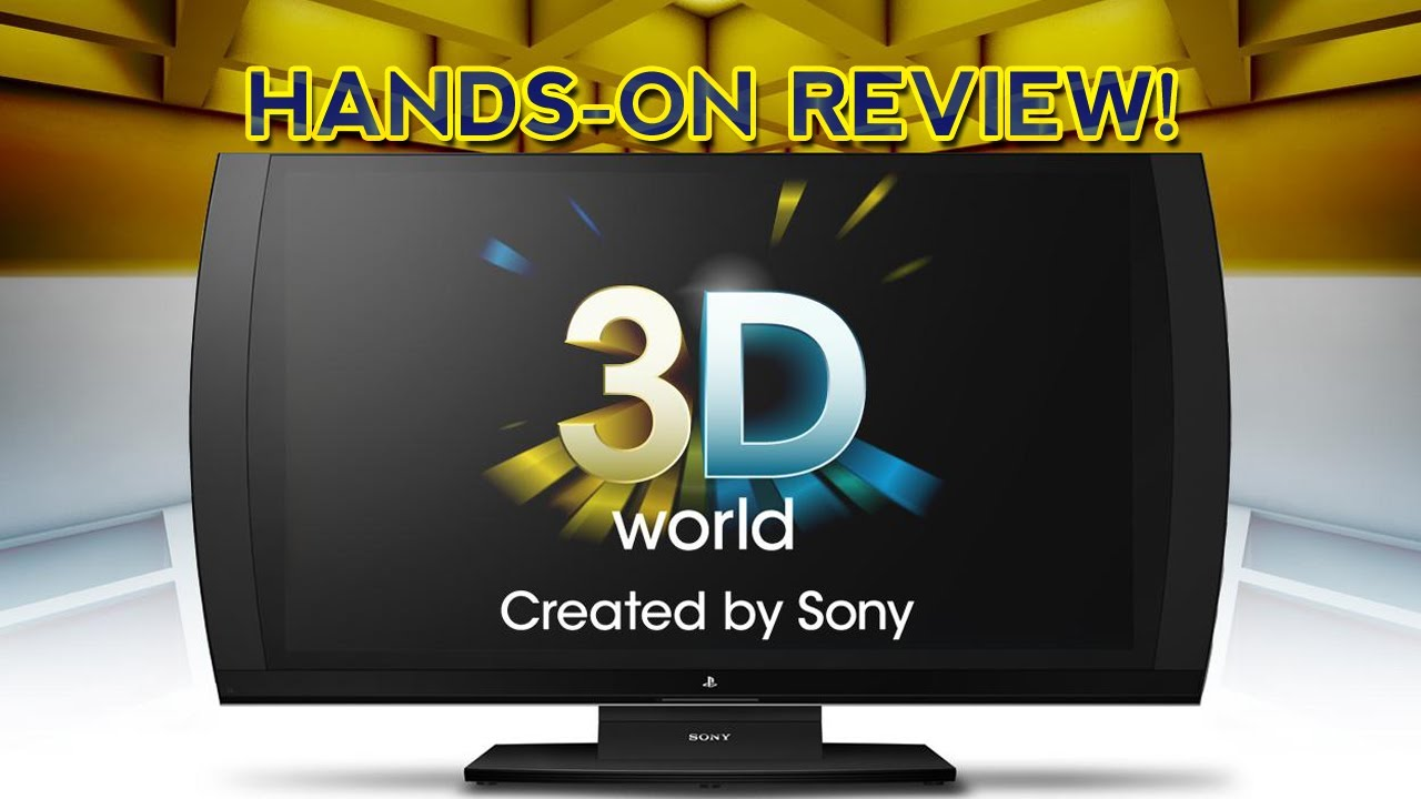 Playstation 3D Display | Hands-On Review - YouTube