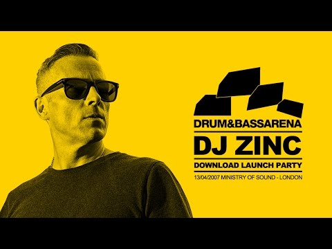 DJ ZINC - Drum & Bass Arena Download Launch Party - 13/04/07 (Full Set) 2007 RARE