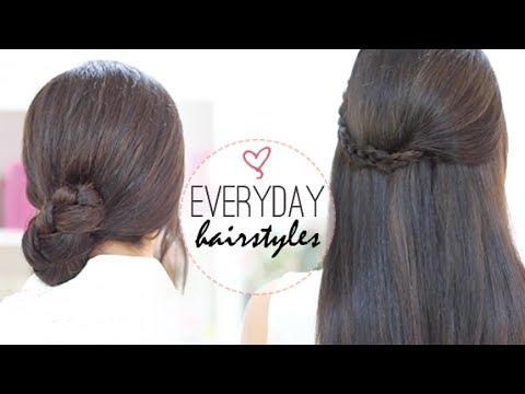 Everyday easy hairstyles