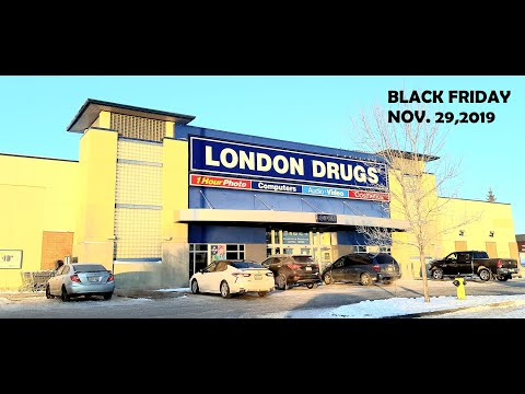 LONDON DRUGS - LEMAX CHRISTMAS VILLAGE SHOPPING 2019