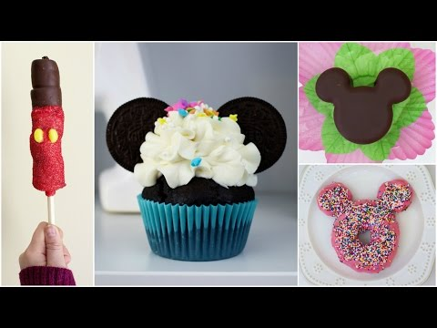 Download Youtube: DIY MICKEY MOUSE SHAPED TREATS #4 | DISNEY INSPIRED