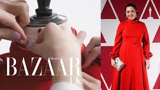 Olivia Colman's Dior Oscars dress took 320 hours to make | Bazaar UK