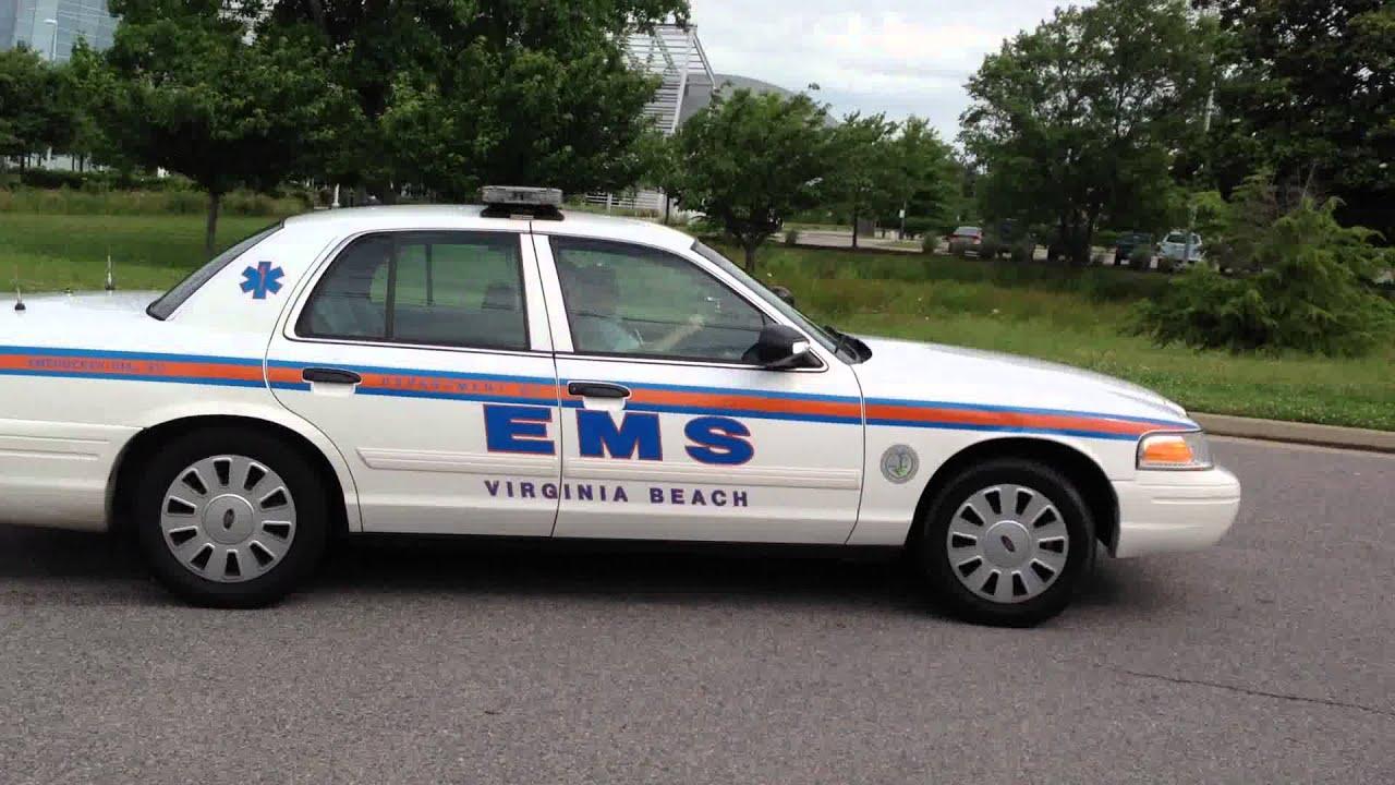 Va Beach Ems Zone 14 Medic Car Responding Lights Amp Siren
