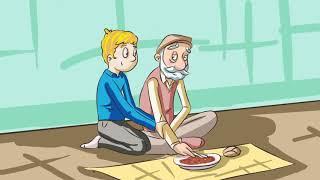 Hikayelerle Çocuklara 40 Hadis - (Plastik Tabak)