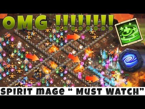 12 /12 SPIRIT MAGE | 8 Regenerate & 6 Empower | SSSICK GAMEPLAY | CASTLE CLASH