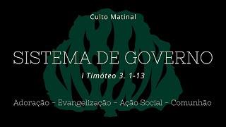 Culto Matinal - 10 de outubro de 2021