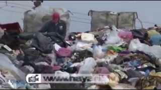 México 2014: pepenadores comen de vertederos.