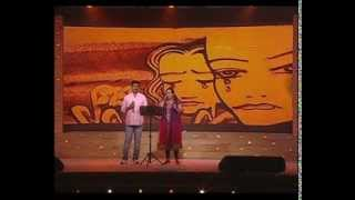 Mizhiyoram nananjozhukum live - by Rajalakshmi & Ravi Shankar @ Celluloid Mega Event