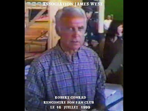 Download L'Association James West rencontre Robert Conrad 16-07-1999