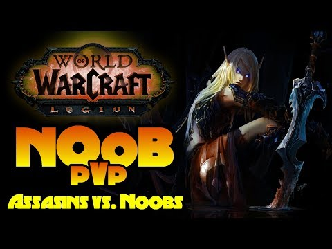 World of Warcraft Legion - Dumb Things Noobs Do In Pvp