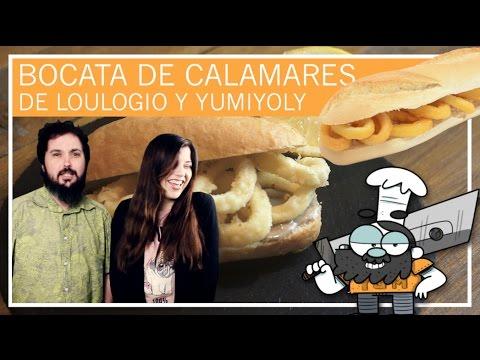 Bocata de calamares de @Loulogio_Pi y @YumiYoly | Yumrecetas