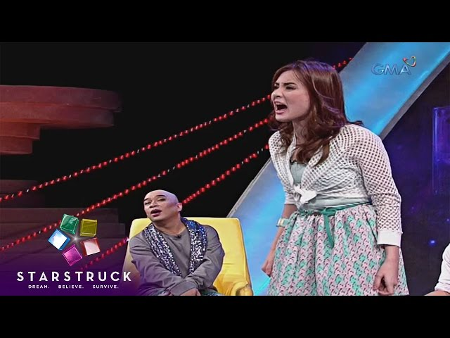 Jay Arcilla and Arra San Agustin on StarStruck Time Out