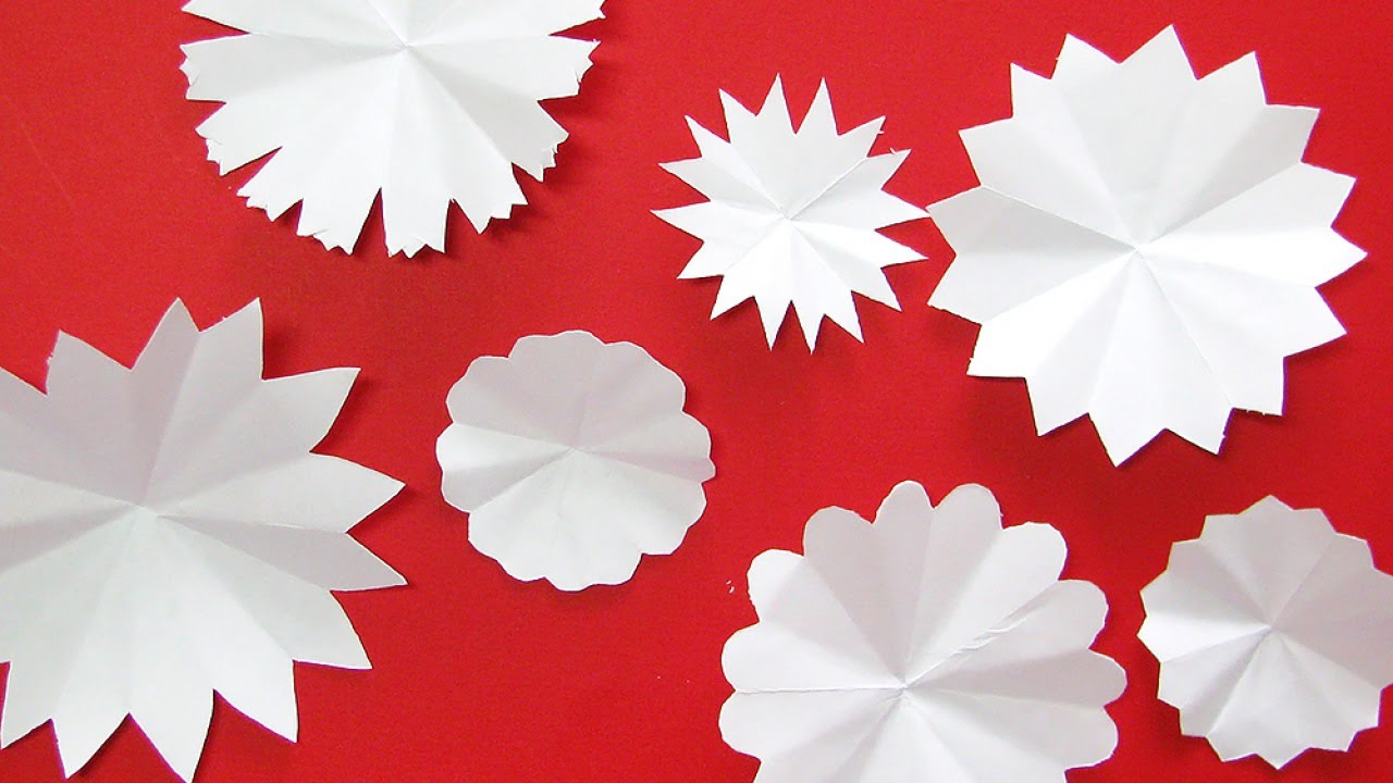 Easily cut beautiful paper flowers diy crafts guidecentral youtube mightylinksfo