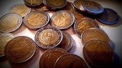 2 EURO Münzen mit Fehlprägungen 🎰💵