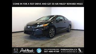 2014 Honda Civic Coupe  Review Sherwood Park Alberta - Park Mazda
