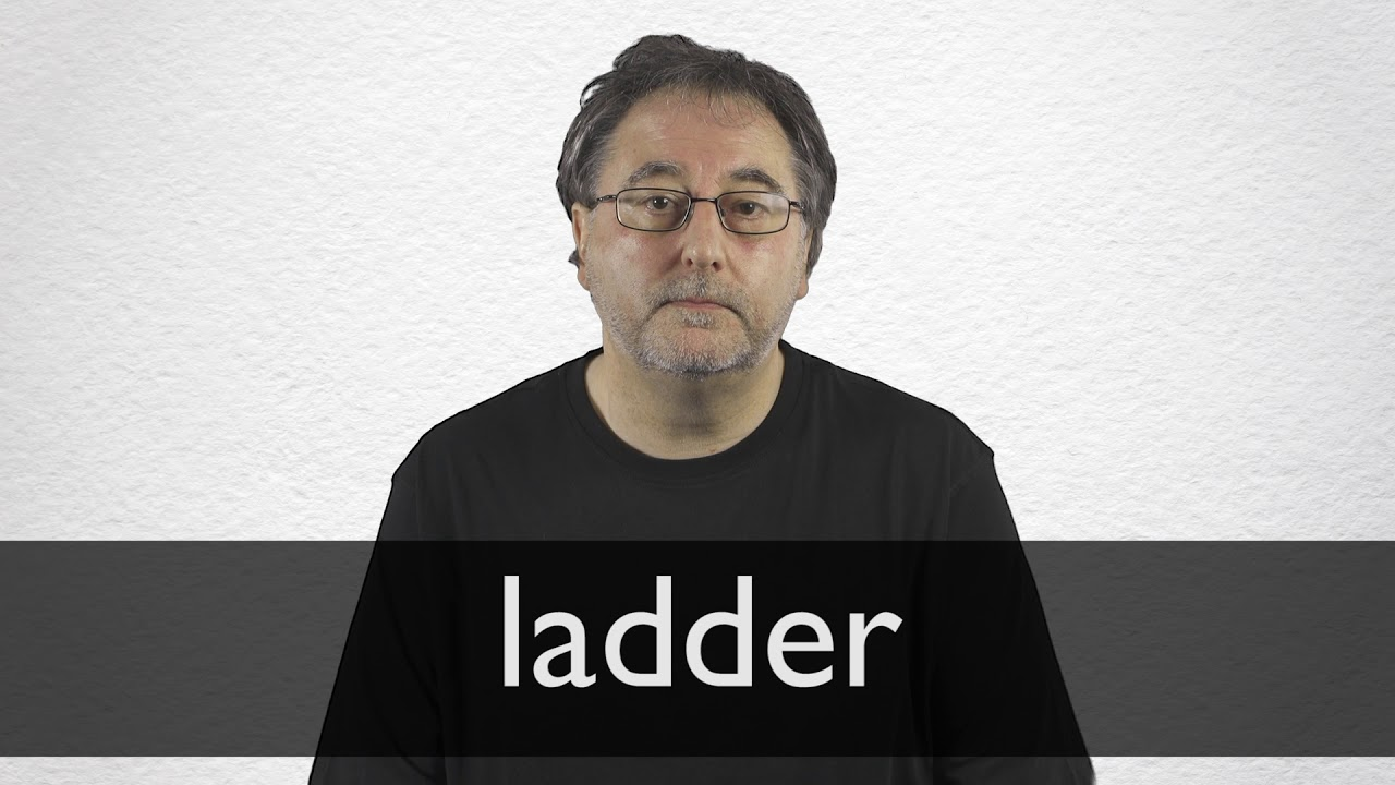 Ladder definition and meaning | Collins English Dictionary