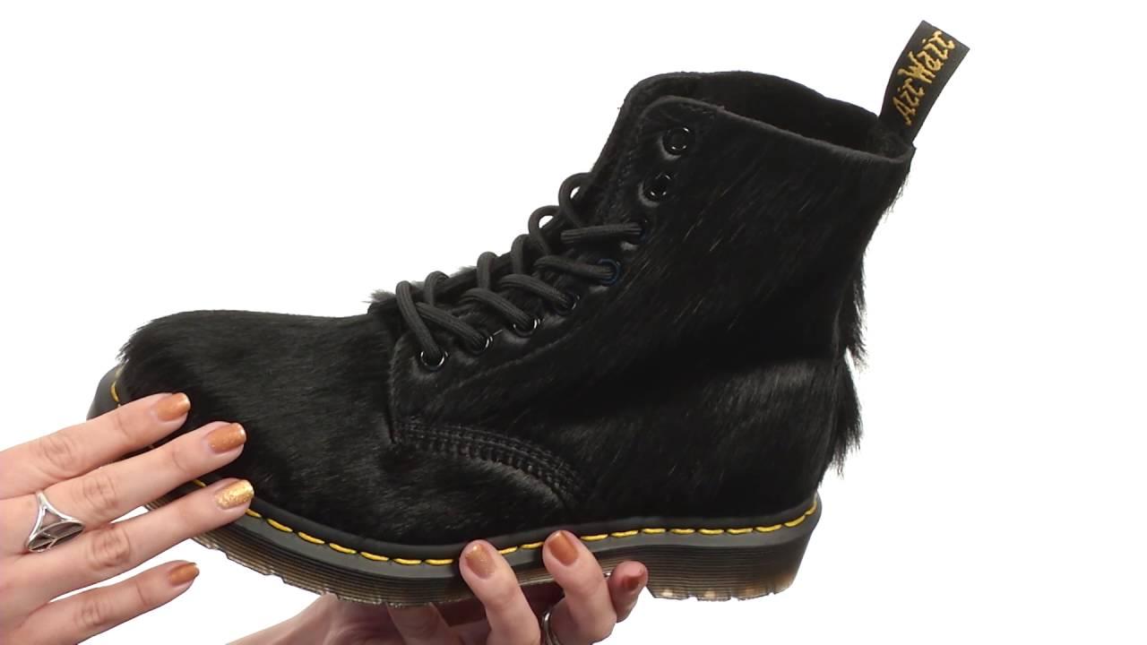 buy popular 4c108 a5c0d Dr. Martens Pascal Hair 8-Eye Boot SKU 8729574