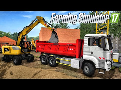 Farming Simulator 17 - LE RETOUR DE LA VIE DE CHANTIER ?!