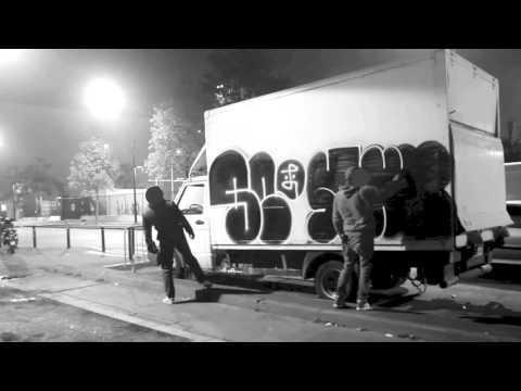 Bombing With Staze. (Graffiti documentary).