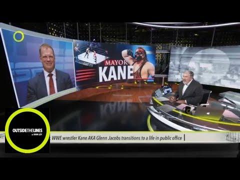 Former WWE wrestler Kane talks about transition to mayor  OTL  ESPN