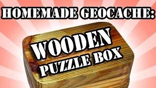 Homemade Puzzle-box Geocache