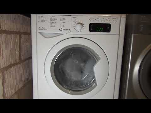 Express wash and dry 35 Minutes (Full cycle) - Indesit advance Washer Dryer.
