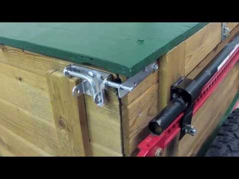 Camping Trailer Harbor Freight Trailer Custom Built