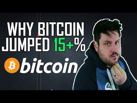 Why Bitcoin JUMPED!
