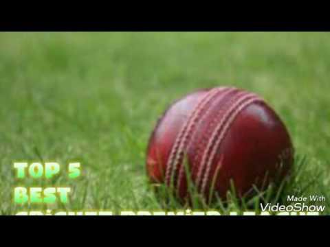 Top 5 Best Cricket Premier League..