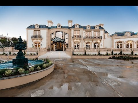 Super Luxurious $80 Million 28,000 SQ. FT 11 Bed / 18 Bath Beverly Hills Mansion