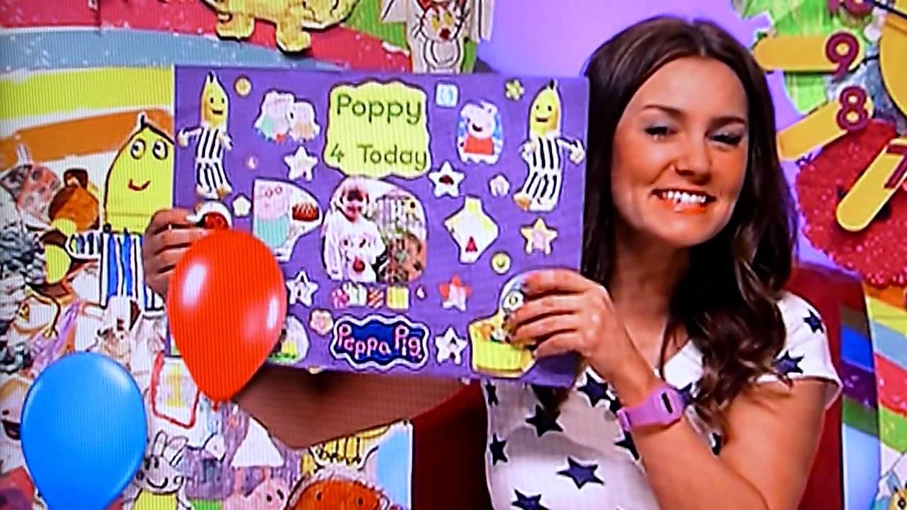 Poppy birthday on milkshake youtube bookmarktalkfo Images