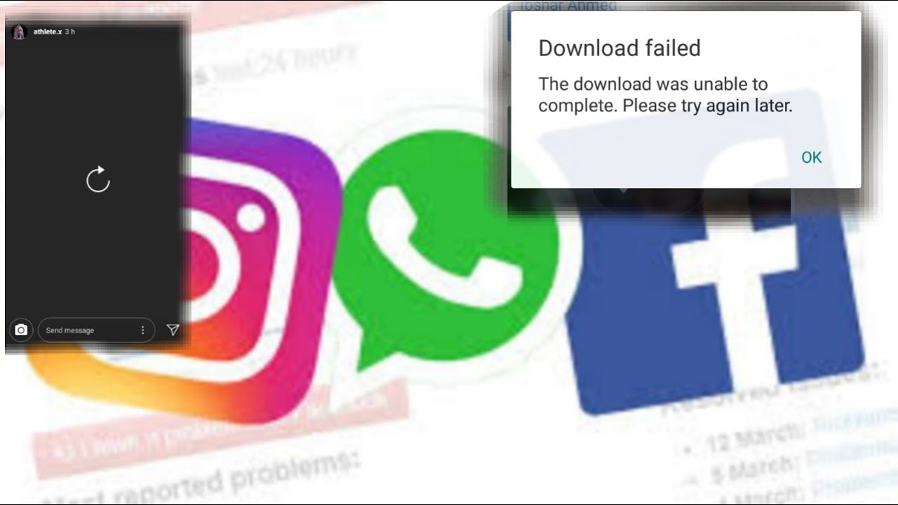 Glitches on Facebook, Whatsapp and Instagram resolved