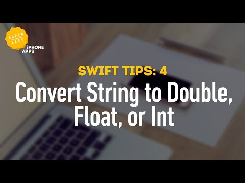 How to Convert Strings into Double, Float, and Int Numbers Using Swift 2 - Swift Tips 4