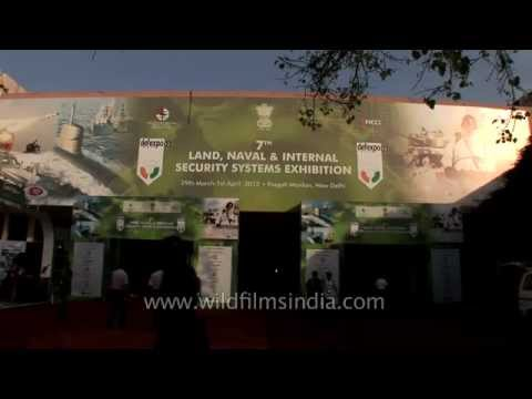 7th Land, Naval & Security System Exhibition - DefExpo 2012
