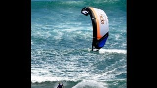 KiteBoarders at Diamond Head, Oahu, Hawai
