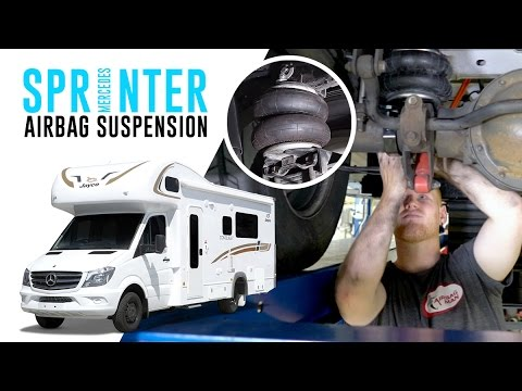 Mercedes Sprinter Air Suspension Rr4690 Airbag Man Leaf